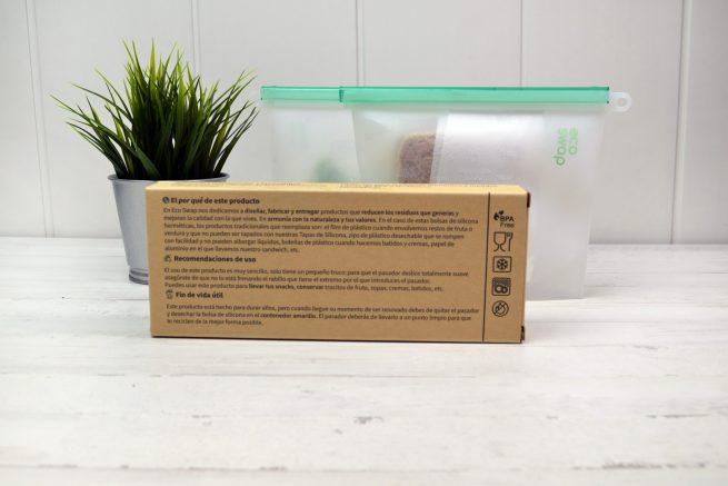 bolsas silicona reutilizables