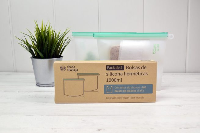 envases reutilizables con el medio ambiente
