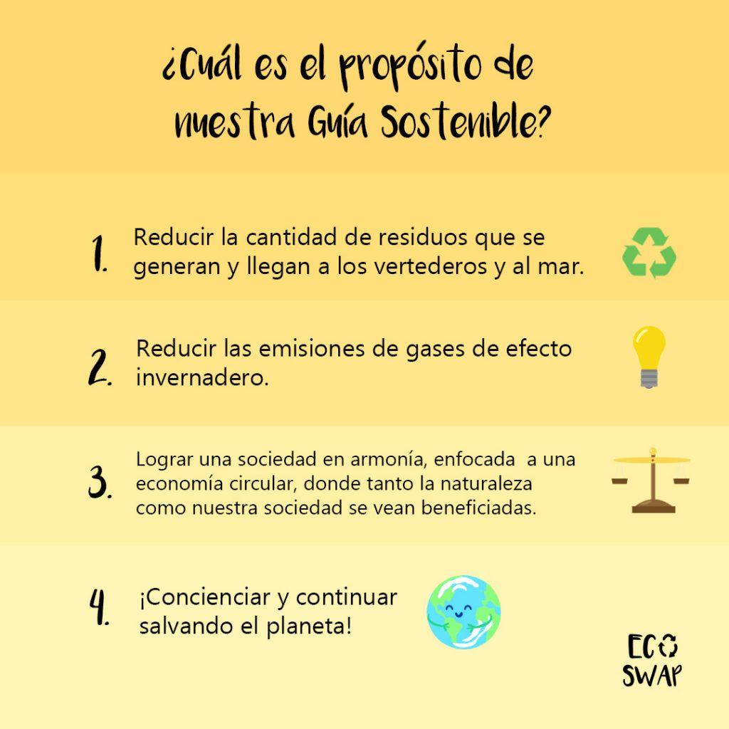 el propósito de nuestra guia sostenible