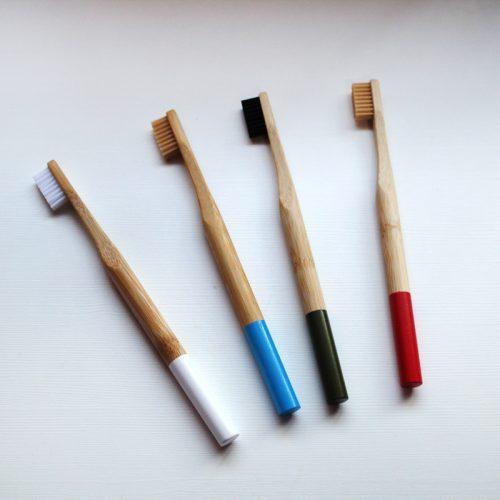 cepillo de dientes de bambu