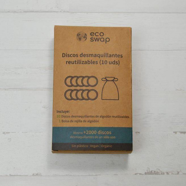discos desmaquillantes reutilizables