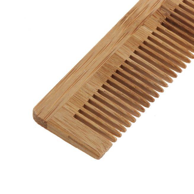 mejor peine de bambú biodegradable
