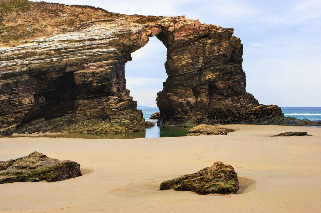 reserva natural en Galicia - Playa de Las Catedrales